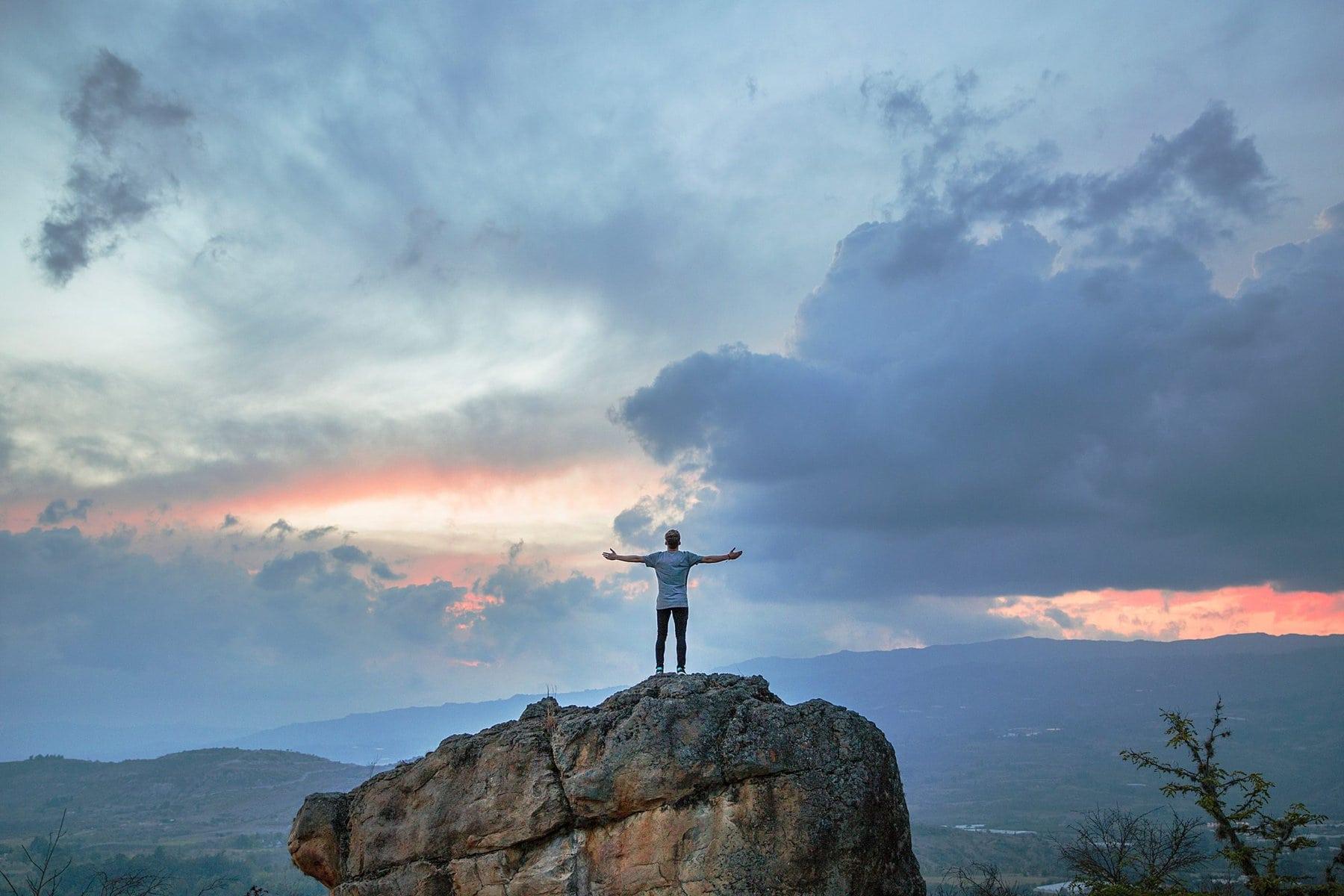 Stelle dich deiner Angst und du wirst stark und frei
