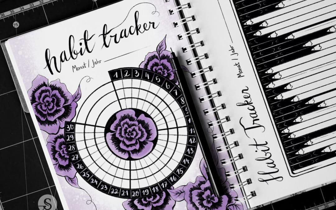 4 Habit Tracker Vorlagen – Für mehr kreative Produktivität