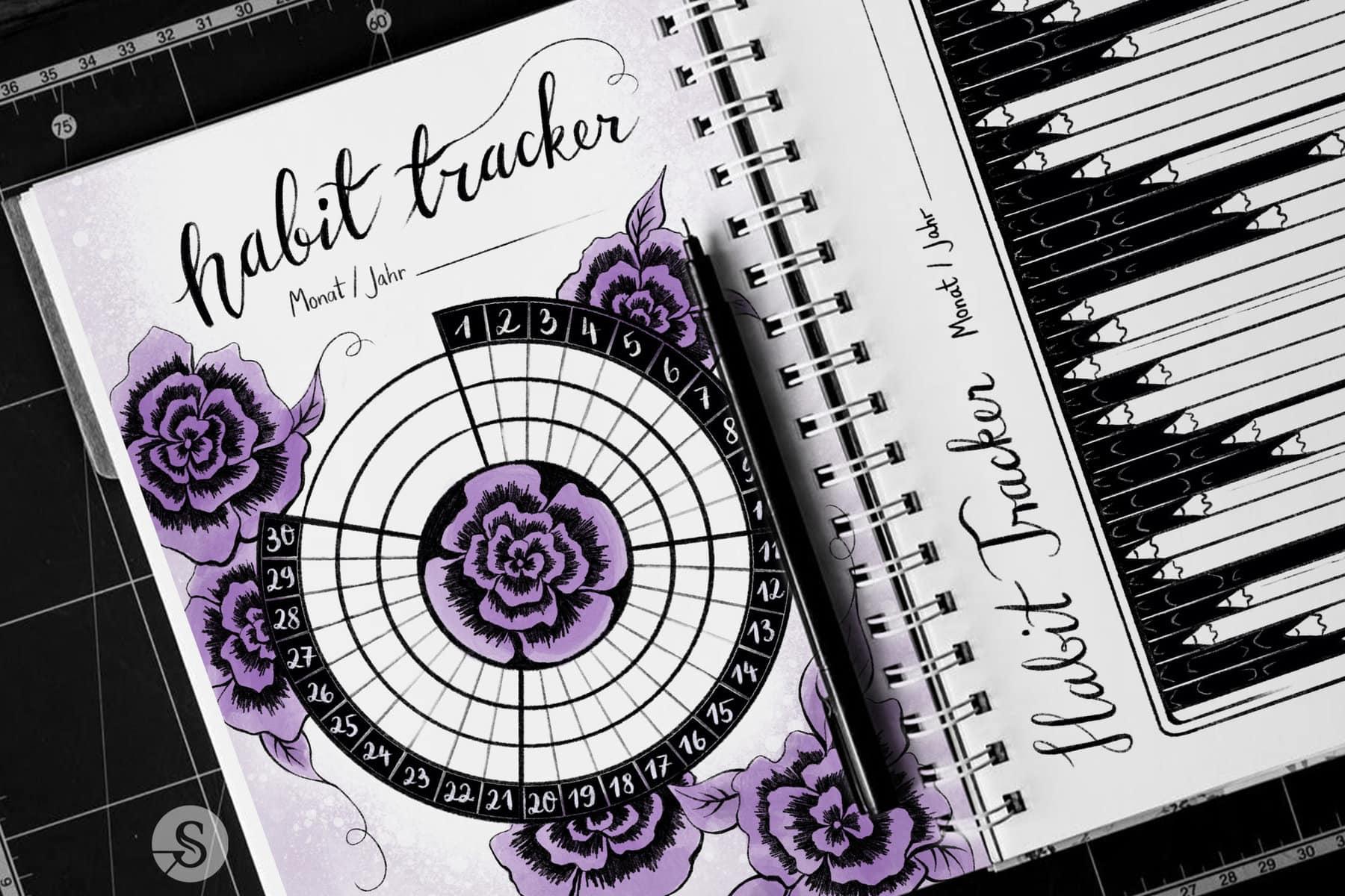 The Coaching Artist – Habit Tracker Vorlage Beitragsbild