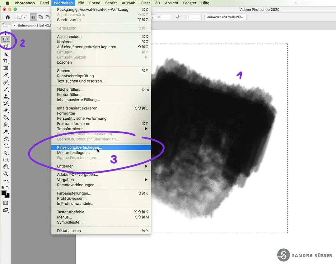 Photoshop Pinsel erstellen – Digital