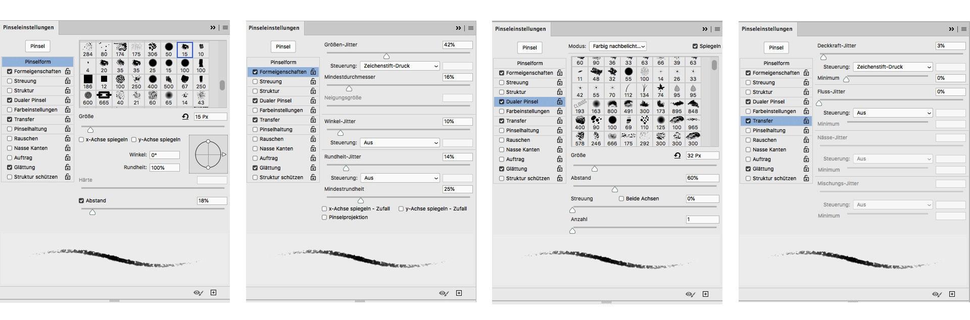 Photoshop Pinsel erstellen – Analog 2