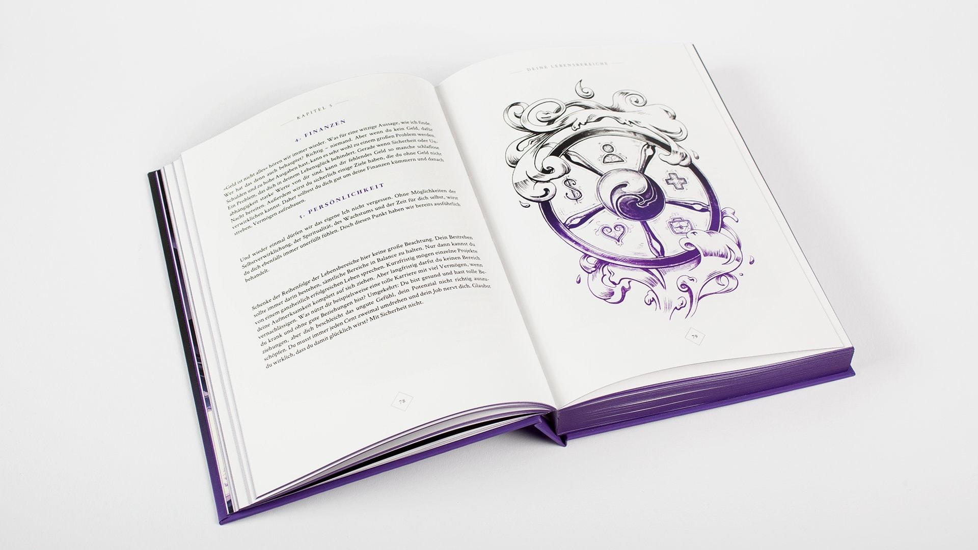 Beispiel-Seite Magie der Gewohnheit – In drei Schritten Ziele setzen und erreichen für Kreative