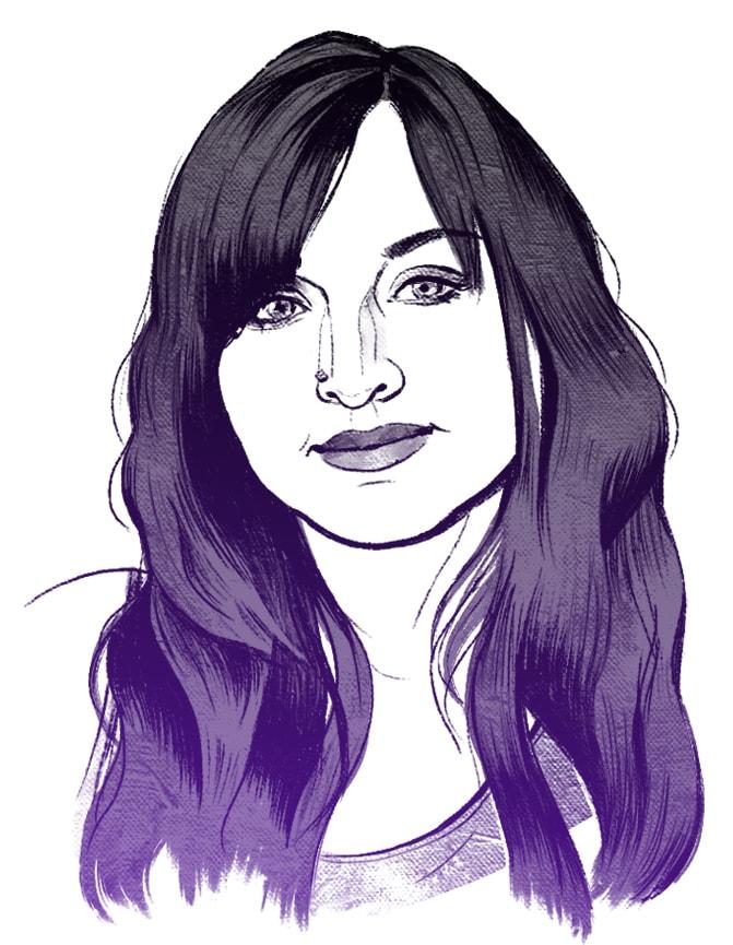 Djamila Knopf Porträt