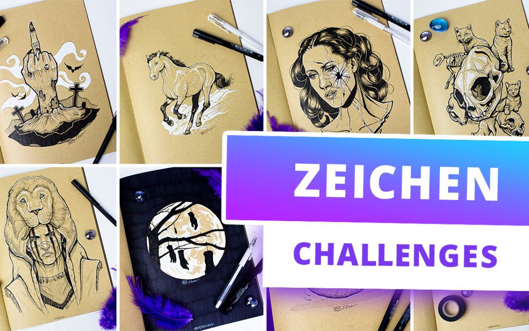Zeichen Challenges Liste – Kreative Ideen für jeden Tag