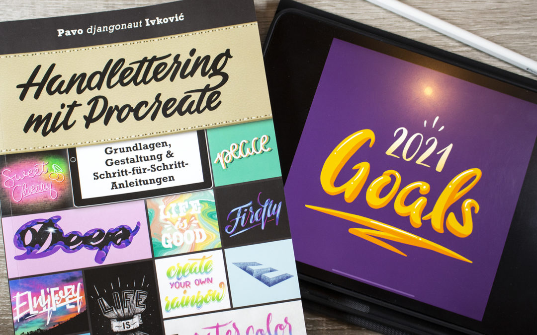 Handlettering mit Procreate – Pavo Ivković [Buch Review]