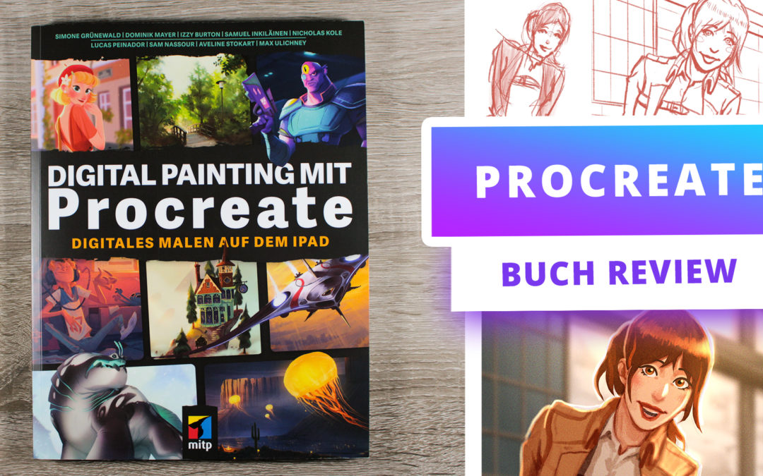 Digital Painting mit Procreate [Buch Review]